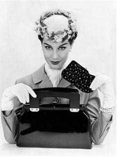Model Nancy Berg, 1956
