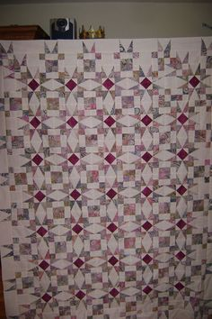 I love optical illusion quilts