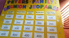 famili fun, famili reunion, famili game, famili stuff, family reunions