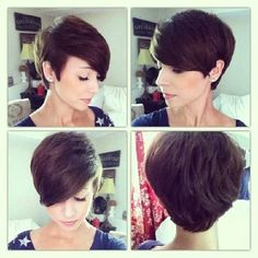 This is pretty but she seems to have fairly thick hair unlike me