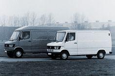 Mercedes-Benz Transporter-Reihe TN mit den Typen 207 D, 208, 307 D und 308 (Baureihe 601) (1977)