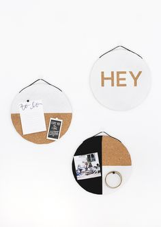 DIY Cork Boards @the