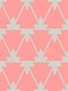 peach/pink and beige pattern