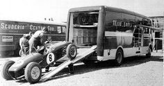 Team Lotus Race Transporter