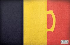 National Flags with Beer Themes. Ad for sunset grill & tap - Creative Director: ryan dean waite