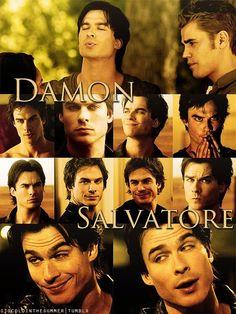 DAMON ♥ I love my Damon Salvatore =D