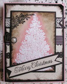 "Christmas Card Stampin' Up"" Hand"