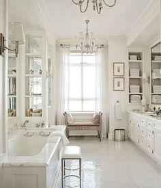marble vanity and tub