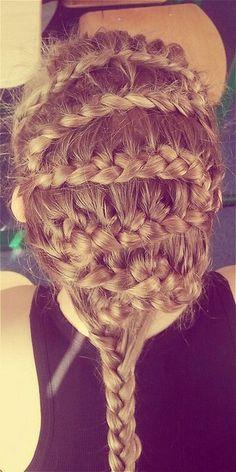 Bride's long loose fishtail braid bridal #hair ideas ToniK #Wedding # ...
