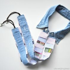 Cleverly Inspired camera strap after