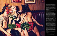 Ashley Smith by Ellen von Unwerth for Galore Magazine #1  Photo                                                 there