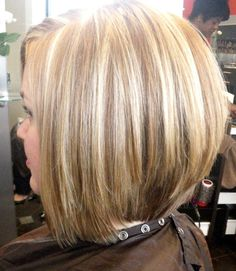 Stacked Medium Bob Haircut: Short Hair Trends