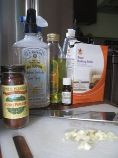 Natural Pesticide Recipes: Add a little diatomaceous earth to the mix for an effective and natural pesticide.