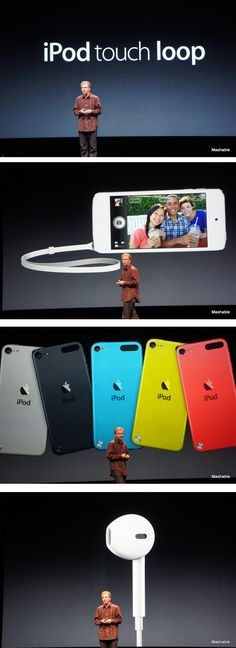 Apple Unveils New iPod Touch With Siri, Larger Screen