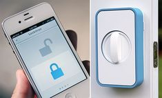 Lockitron - door lock controlled by wifi + NFC