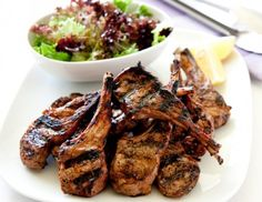Lime chilli BBQ cutlets