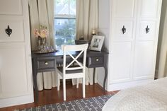 #WatchandPin  Desk and chair with accents piece.  #DearGenevieve  (Air Date:  Sept 21  5:30pmEST)