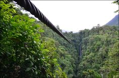 Zip Line- Costa Rica, I got to do this in 2010! So much fun!