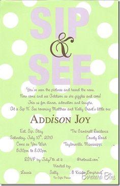 tea party invite idea! sip n see ____ turn 3!