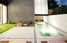 modern pool idea