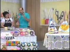 Caminho de mesa - Tv Gazeta - 14-08-12 - Cristina Luriko