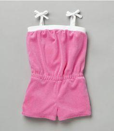 Romper diy terri cloth? for the beach