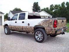 another camo truck