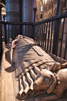 The Tomb of William Courtenay - Archbishop of Canterbury (1381-1396)    		Canterbury Cathedral