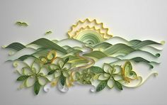 Beautiful quilling from Jitesh Patel via All Things Paper