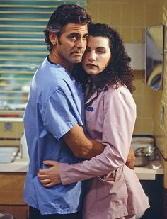 ER // George Clooney and Julianna Margulies