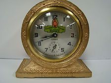 Vintage RED GOOSE SHOES FRIEDMAN SHELBY ALARM CLOCK