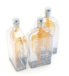 Spine Vodka: Awesome Concept by Johannes Schulz. Perfect for my dream Halloween party!