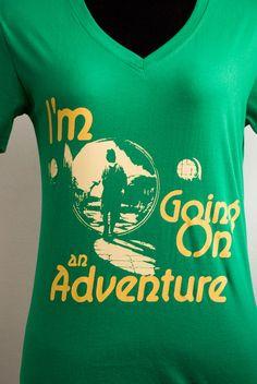 The Hobbit T-shirt. WANT.