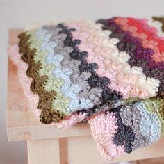 Free pattern crochet blanket