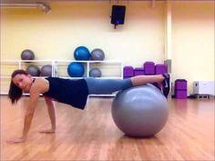 Stability Ball Core Workout!