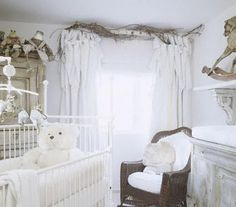 Beautiful #white #nursery
