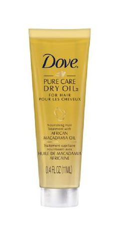 Pure Care Dry Oil Nourishing Treatment with African Macadamia Oil by Dove | sample size