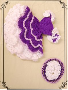 crochet Barbie outfit