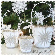 winter buckets