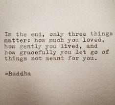 Buddha Quote Typed on Typewriter by farmnflea on Etsy, $10.00