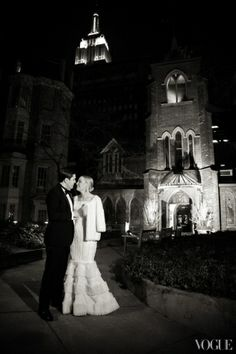 New York wedding.
