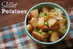 Skillet Potatoes from The Hill Hangout
