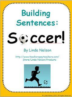 Building Sentences - Soccer!