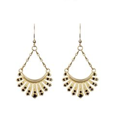 Thessaly Earrings by Angel Court $130.00  #angelcourt Soooo Pretty!! #iloveangelcourt