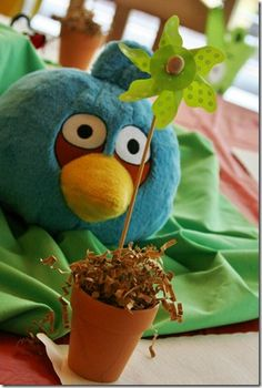 """Angry Birds """"Bird""""day Party"""