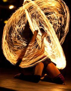 #element #fire #performer #dancer #circles