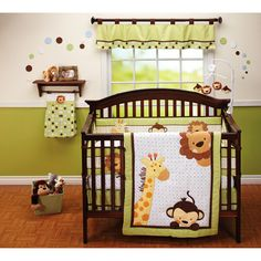 Cute Jungle Nursery