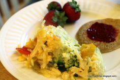 Crockpot Breakfast Egg Casserole