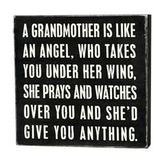 I was blessed with wonderful Grandmothers