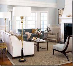 living room (TradHome)